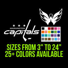 Load image into Gallery viewer, Washington Capitals