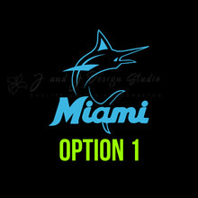 Load image into Gallery viewer, Miami Marlins Vinyl Decal