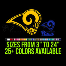 Load image into Gallery viewer, Los Angeles Rams Vinyl Decal