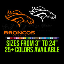 Load image into Gallery viewer, Denver Broncos Vinyl Decal Vinyl Decal