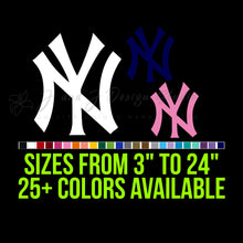 Load image into Gallery viewer, New York Yankees Vinyl Decal