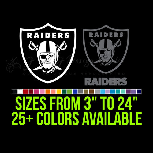 Las Vegas Raiders Vinyl Decal