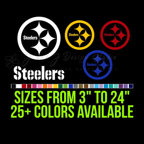 Pittsburgh Steelers Vinyl Decal