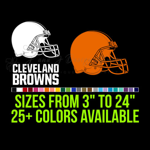 Cleveland Browns  Vinyl Decal
