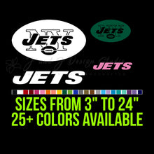 Load image into Gallery viewer, New York Jets Vinyl Decal