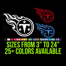 Load image into Gallery viewer, Tennessee Titans Vinyl Decal