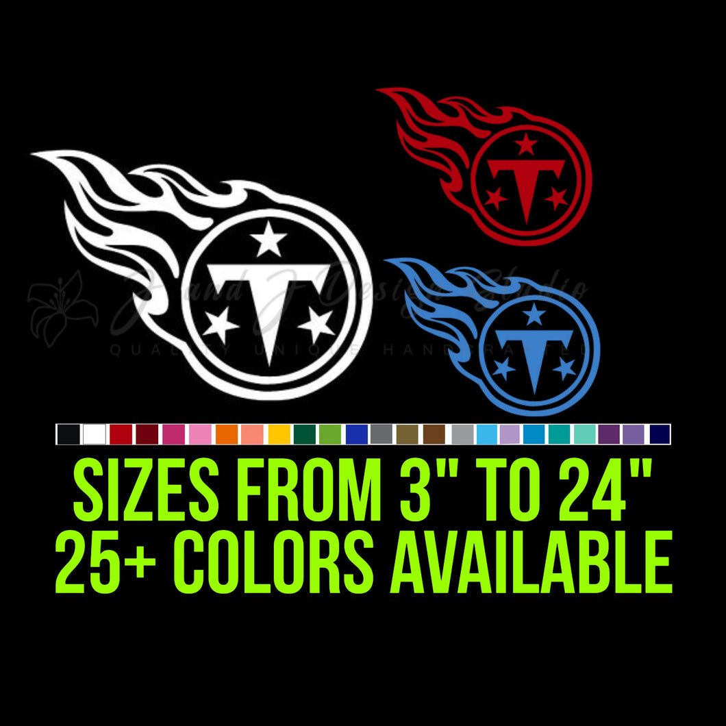 Tennessee Titans Vinyl Decal