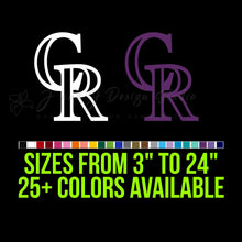 Load image into Gallery viewer, Colorado Rockies Vinyl Decal