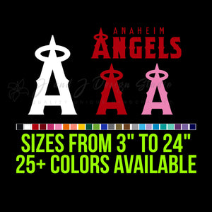 Los Angeles Angels Vinyl Decal