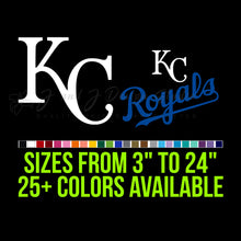 Load image into Gallery viewer, Kansas City Royals Vinyl Decal