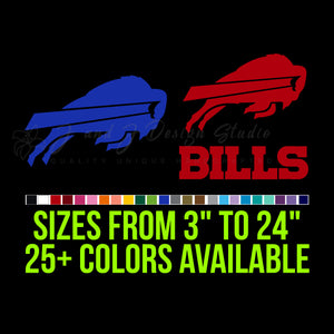Buffalo Bills Vinyl Decal Vinyl Decal