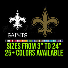 Load image into Gallery viewer, New Orleans Saints Vinyl Decal