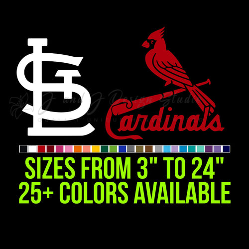 St Louis Cardinals Vinyl Decal