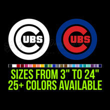 Load image into Gallery viewer, Chicago Cubs Vinyl Decal