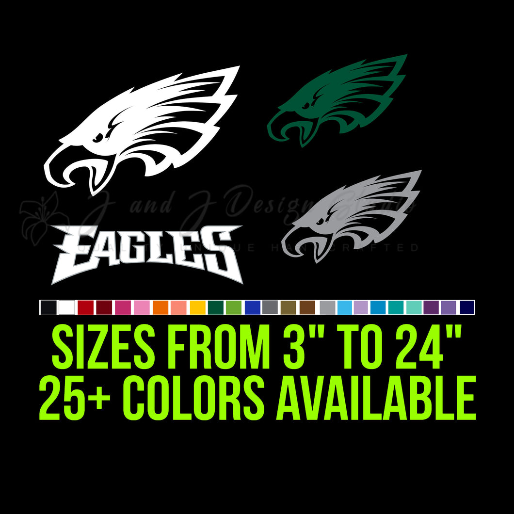 Philadelphia Eagles Vinyl Decal