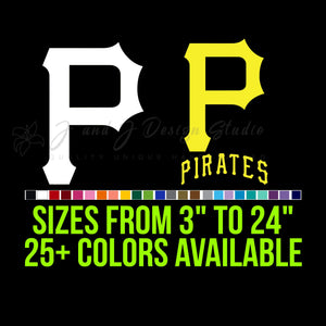 Pittsburgh Pirates Vinyl Decal