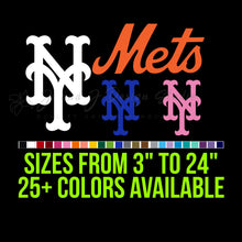 Load image into Gallery viewer, New York Mets Vinyl Decal