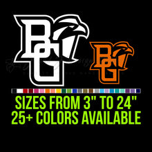 Load image into Gallery viewer, Bowling Green Falcons Vinyl Decal