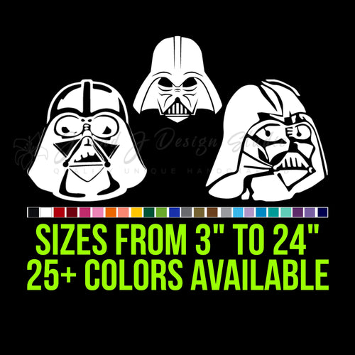 Star Wars Darth Vader Vinyl Decal