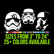 Load image into Gallery viewer, Star Wars Stormtrooper Vinyl Decal