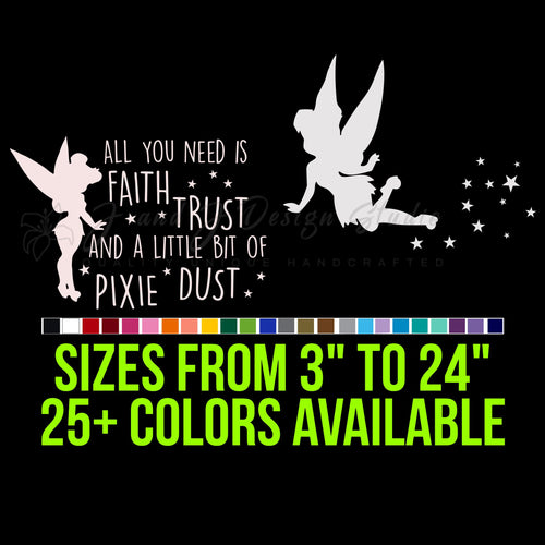 Tinkerbell Vinyl Decal