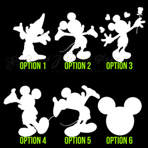Mickey Mouse Vinyl Decal