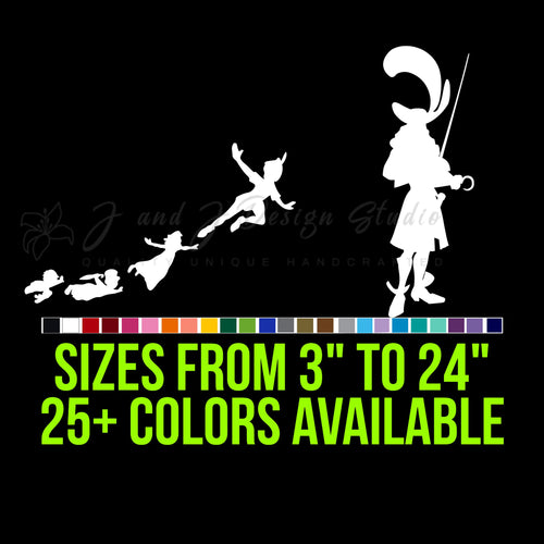 Peter Pan Vinyl Decal