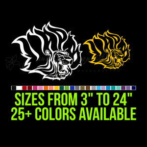 Arkansas Pine Bluff Golden Lions Vinyl Decal