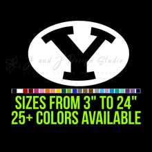 Load image into Gallery viewer, BYU Cougars Vinyl Decal