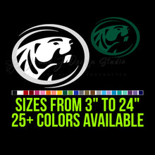 Load image into Gallery viewer, Bemidji State Vinyl Decal