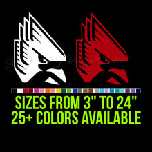 Load image into Gallery viewer, Ball State Cardinals Vinyl Decal