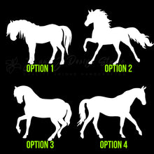 Load image into Gallery viewer, Horses Vinyl Decal