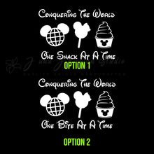 Load image into Gallery viewer, Disney desserts Vinyl Decal