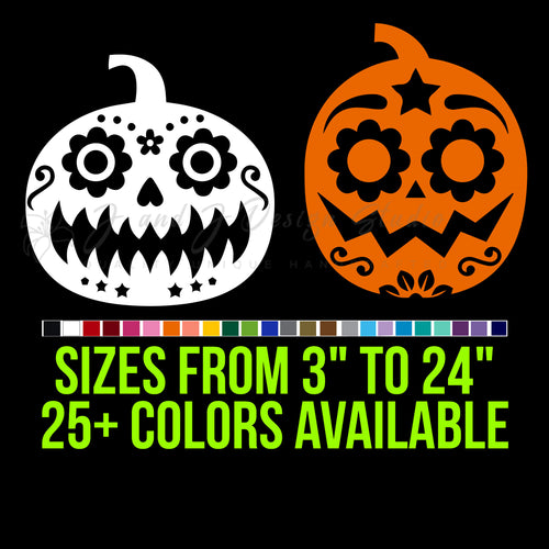 Pumpkins Vinyl Decal