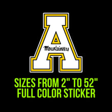 Load image into Gallery viewer, Appalachian State Mountaineers Vinyl Decal