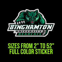 Load image into Gallery viewer, Binghamton Bearcats Vinyl Decal