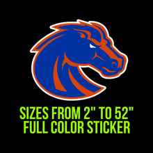 Load image into Gallery viewer, Boise State Broncos Vinyl Decal | Hydroflask decal | Yeti Decal | Laptop Decal | Cell phone Decal | Vinyl Car Decal | Cornhole Decal