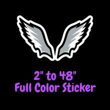 Load image into Gallery viewer, Philadelphia Eagles Full Color Vinyl Sticker ; Hydroflask decal ; Laptop Decal ; Yeti Decal Cell phone Decal Cornhole Decal Vinyl Car Decal