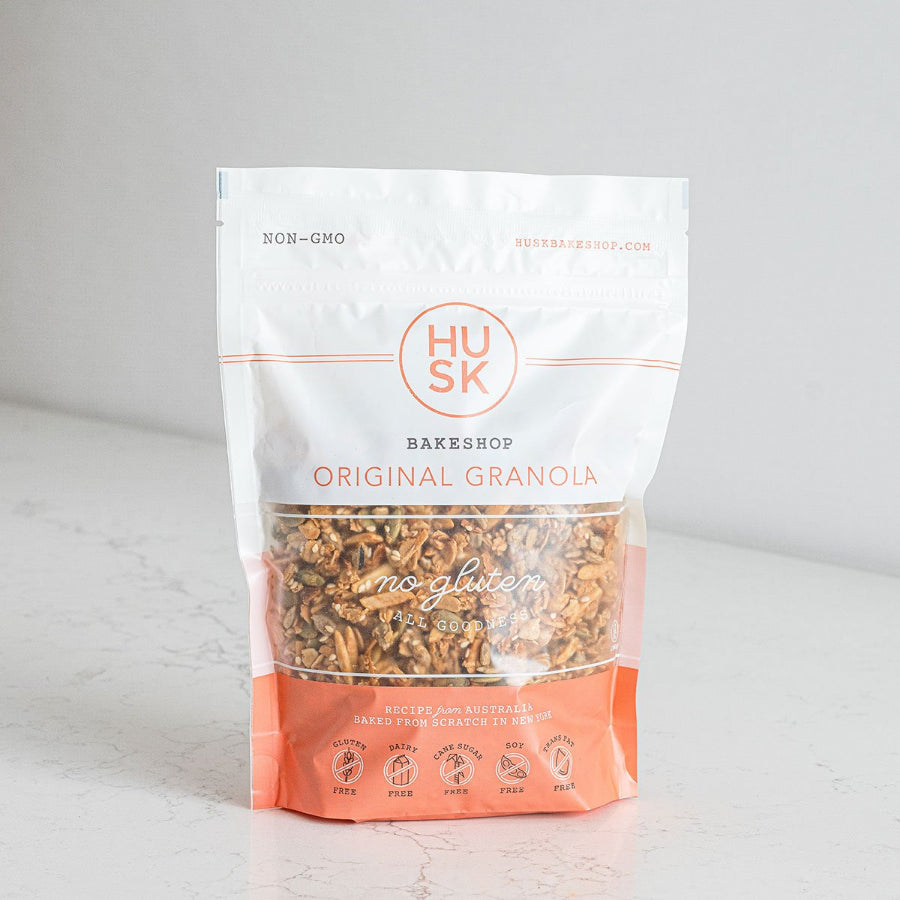 Husk Bakery Original Granola Package