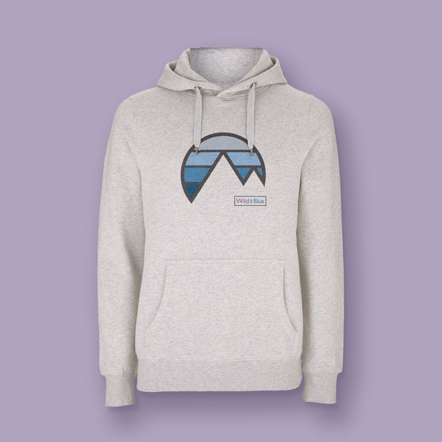 Mountain Sky - Blue Bird Hoody