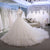 White A Line Strapless Open Back Tulle Wedding Dresses Best Bride Gown