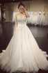 Sweetheart White Lace A Line Tulle Wedding Dresses Best Bride Gown