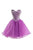 Purple Sweetheart Homecoming Dresses Best Cocktail Dresses With Rhinestone - NICEOO