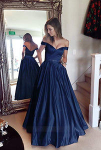 Burgundy Off Shoulder Sweetheart Backless Long Prom Dresses Military Ball Dresses - NICEOO