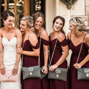Burgundy Spaghetti Strap Off Shoulder Long Chiffon Bridesmaid Dresses