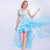 Sleeveless Lace Applique High Low Homecoming Dress With Ruffle Organza
