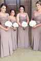 Slim Line Sweetheart Strap Satin Bridesmaid Dresses Plus Size Prom Dresses