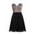 A Line Cute Sweetheart Empire Waist Chiffon Cocktail Dresses Prom Dresses - NICEOO