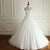 White A Line Strapless Open Back Empire Waist Long Wedding Dresses Best Bride Gown