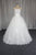 Ivory Strapless A Line Empire Waist Tulle Wedding Dresses Best Bride Gown - NICEOO